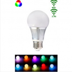 Mi-Light LED E27 Bulb 5W RGB/Warm wit WiFi/RF Controlled